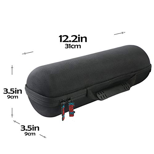 Khanka Hard Travel Case Replacement for Sony SRS-XB32 Extra Bass Portable Bluetooth Speaker (Black)