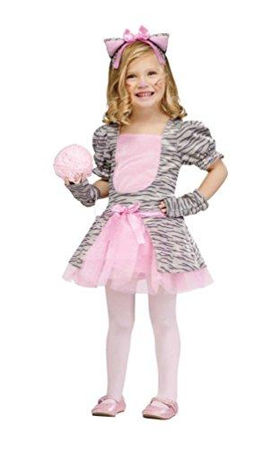 Toddler Grey Kitten Girls Costumes (Grey Kitten Kids Costume (Large (3T-4T)))