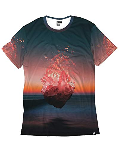 INTO THE AM Pure Mourning Men's Casual Tee Shirt (3X-Large) ()