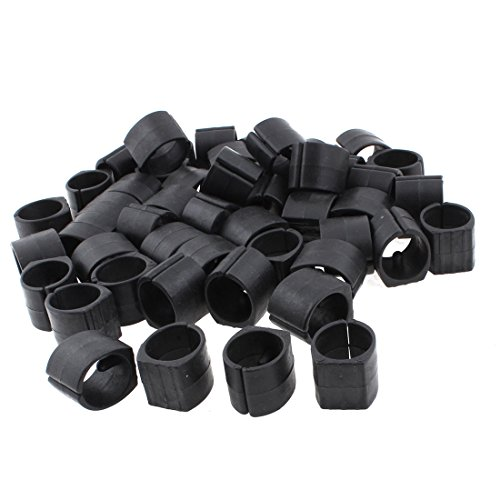 Uxcell plastic home furniture chair pipe foot clamp pads u