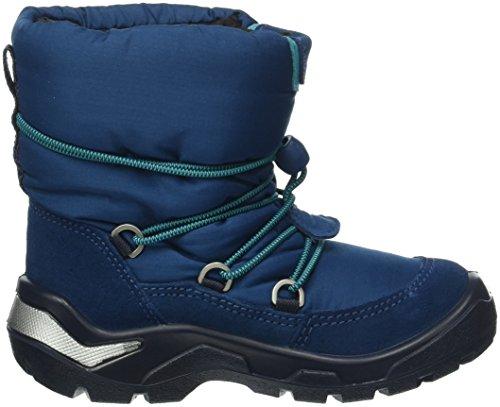 Ecco 751161 - Botas de nieve para niños Azul(Poseidon/Poseidon50139)