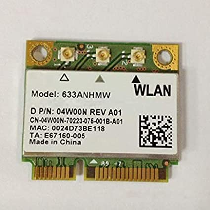 Ultimate-n 6300 AGN Half Pci-e Card 633anhmw USE FOR INTEL 6300 AGN  802 11a/b/g/n 2 4 Ghz and 5 0 Ghz Spectra 450 Mbps Support WIDI