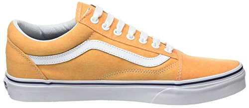 Giallo Uomo Crown da Vans Blue Scarpe Old Washed Canvas Basse Skool Ginnastica UA Citrus 44wC7q8p