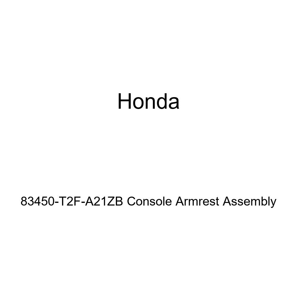 Honda Genuine 83450-T2F-A21ZB Console Armrest Assembly
