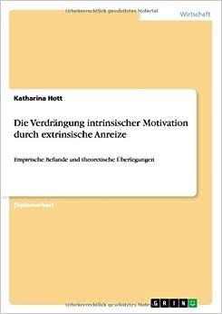 Die Verdrängung intrinsischer Motivation durch extrinsische Anreize