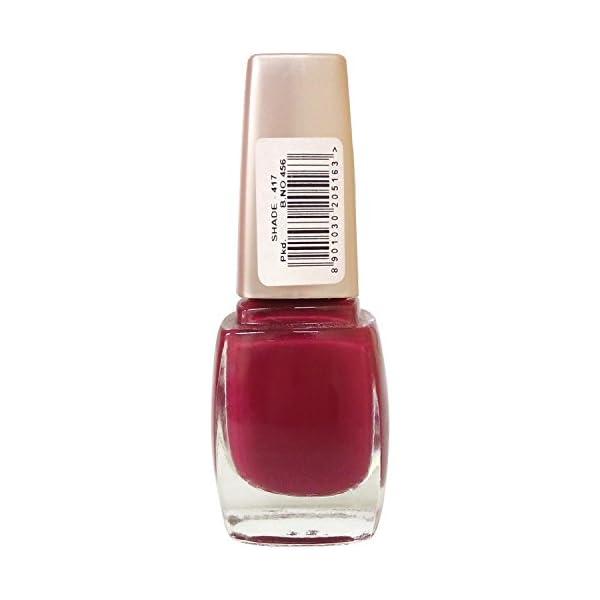 Lakmé Nail Colour - Freespirit Nail, Shade - 417, 9ml Bottle 2021 July Long-lasting, chip-resistant, nail enamel Classic shades Colour lock technology