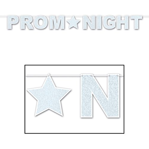 12 Prom Night Party Decoration Streamers Glitter Sparkle by bim