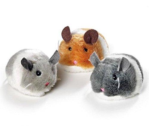 KARLIE Spielzeug PLÜSCH Maus SHAKIN JERRY Aufziehmaus für Katzen