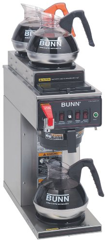 Best price for Bunn 12950.0253 CWTF35-3 Automatic Commercial Coffee Brewer with 3 Warmers