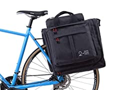 The Classic 2.0 Garment Pannier is designed to simplify commuting and travel with crisp, wrinkle-free clothes. Mounts to any standard bike rack with the Rixen & Kaul TWIST Mounting system. Works with standard bike racks sized 6-12 mm. Fea...