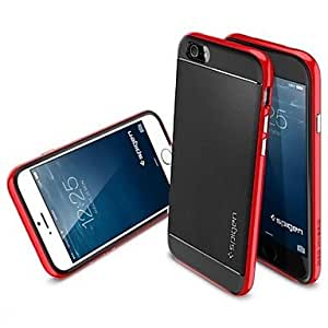 GOFO Special Design Silica Gel Soft The Material Back Cover for iPhone 6 ,Color:Red Protective Smartphone Shell