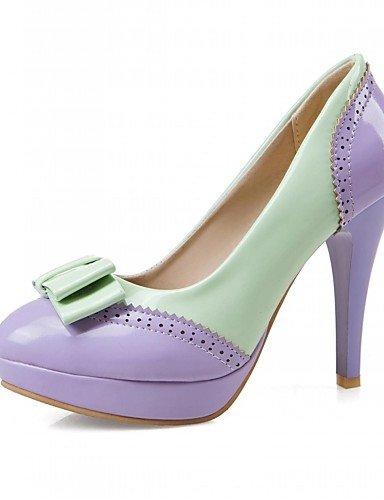 purple ZQ eu42 eu42 uk8 Trabajo Rosa Morado us10 purple Tacones purple cn43 Microfibra Tac¨®n us10 Casual Oficina 5 5 5 de Blanco uk8 Zapatos Tacones Stiletto uk6 cn39 y 5 Vestido Negro eu39 us8 mujer SpqrSzR