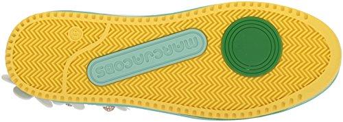 Marc Jacobs Delle Donne Margherita Multi Colore Unica Scarpa Da Tennis Bianca