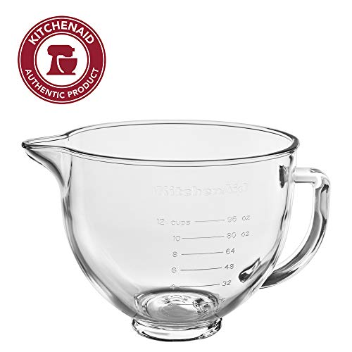 KitchenAid KSM5GB 5 Qt Glass Bowl