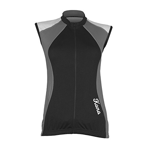 (Women's KONA Triathlon Vest Jersey and Shorts - Sleeveless Tri Singlet, 2 Rear Pockets for Storage)