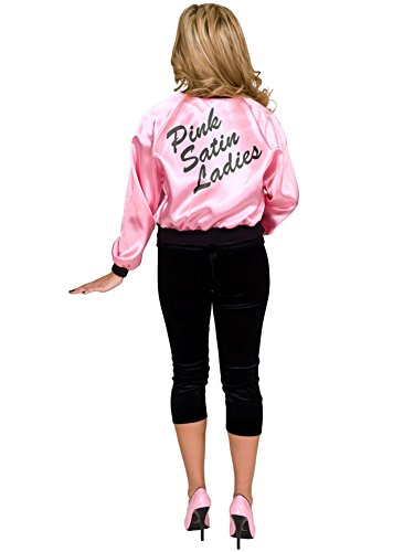 The Pink Satin Ladies Plus Costumes (Pink Satin Womens Adult Jacket Costume (Plus 3X))