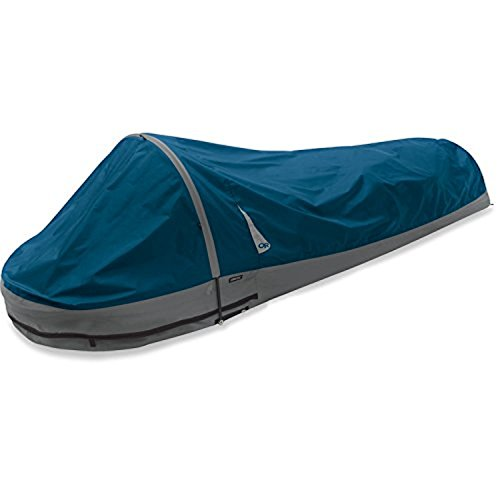 Outdoor Research Advanced Bivy Mojo Blue OS & Performance Headband Bundle by Outdoor Research, USA