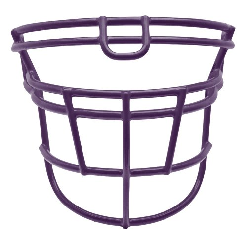- Schutt Sports DNA RJOP UB Carbon Steel Varsity Football Faceguard, Purple, Small/Large