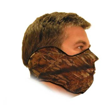 Heat Factory Fleece Face Mask for use with Hand Heat Warmers, Blaze