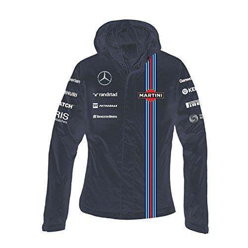 Williams F1 Team - Williams Martini Racing Women's Team Waterproof Jacket, Large