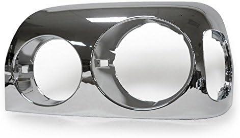 Smoke Headlight Bezels for 1996-2009 FREIGHTLINER CENTURY Left Right Side Pair