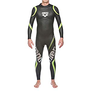 Arena Men's Triathlon Wetsuit Full Sleeve Neoprene and Carbon Fiber, Buoyancy for Open Water Swimming, Ironman and Usat