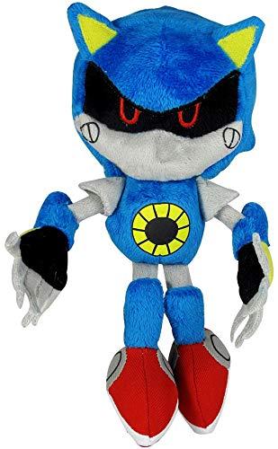Jazwares Sonic the Hedgehog ~ 7.5'' Classic Metal Sonic Plush by Sonic