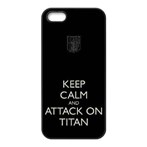 Attack On Titan iPhone 4 4s Cell Phone Case Black&Phone Accessory STC_199026