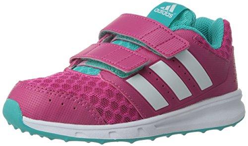 adidas Mädchen LK Sport 2.0 CF Laufschuhe, Violett (Eqt Pink/Ftwr White/Vivid Mint), 35 EU