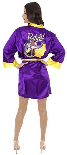 DC Comics Batgirl Bombshell Satin Robe