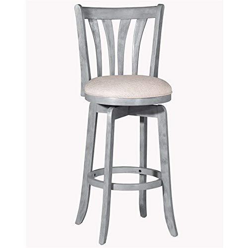 Hillsdale Furniture 4617-826 Hillsdale Savana Swivel Counter Stool, Blue