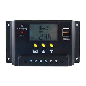 Amazon Com Hompie 30a Solar Charge Controller