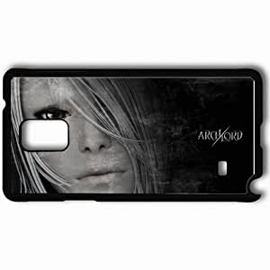 Personalized Samsung Note 4 Cell phone Case/Cover Skin Archlord Black
