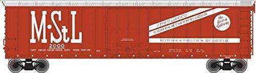 HO 50' AAR Plug Door Box, M&StL #2008 - Ho 50' Aar Plug Door