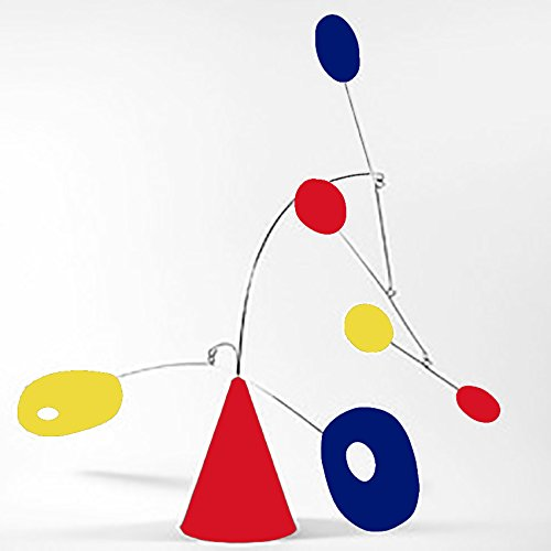 Modernism ''Strobile'' by Atomic Mobiles in Mult Colors - Tabletop Mobile Inspired by Calder and Midcentury Modern - 2 Sizes To Choose From