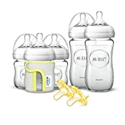 Philips Avent Natural Glass Baby Bottle Gift Set