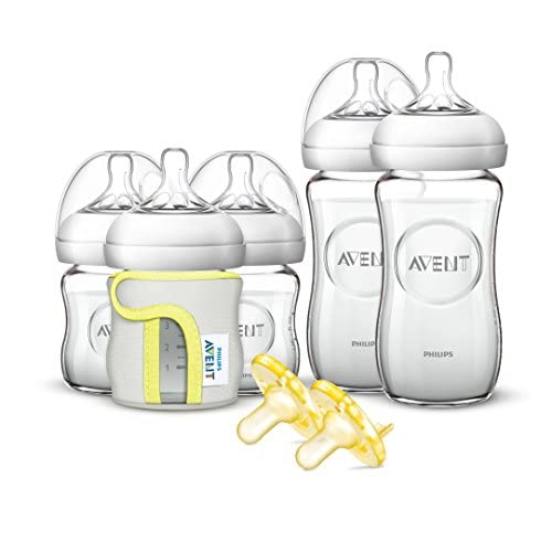 Philips Avent Natural Glass Baby Bottle Gift Set, Source: Amazon