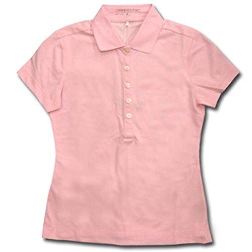 (ナイキ ゴルフ) NIKE GOLF レディース トップス DRI-FIT テックピケ 半袖 ポロシャツ 412037