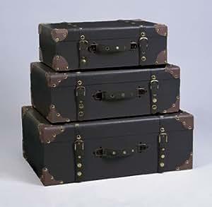 Amazon Com Bombayjewel Set Three Decorative Storage