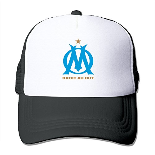 Namii Olympique De Marseill Men's Hat Sports Running Black Size One Size (Wimpy Adult Costume)