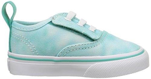 Vans Authentic V Lace - Mocasines para Bebés que ya se tienen de pie Bebé-Niños Turquesa (tie Dye/turquoise)