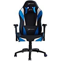 Ewin Chair Champion Series Ergonomic Office Computer Gaming Chair with Pillows-CPD (Black/Blue/Black)
