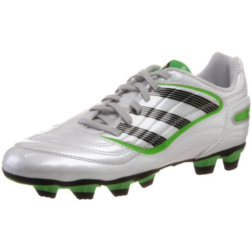 adidas Predito_X TRX FG Soccer Cleat (Little Kid/Big Kid),Predator Running White Metallic/Black/Macaw,10.5 M US Little Kid