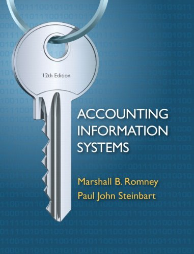 Accounting Information Systems, 12th Edition ()