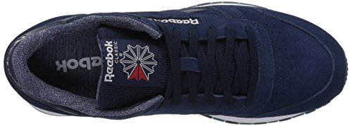 Reebok Uomo Cl In Pelle Nm Fashion Sneaker Collegiate Navy / Bianco