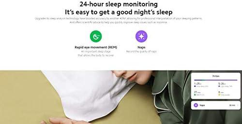 Xiaomi Mi Smart Band 5 (2020) Pantalla a color AMOLED de 1,1 pulgadas, pulsera impermeable IP68 BT 5.0 Fitness, Sleep, frecuencia cardíaca 24/7, deportes, natación, rastreador de salud (modelo global, negro) 6
