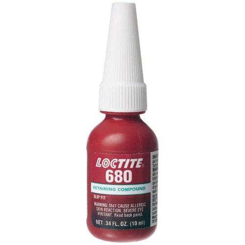 680 Retaining Compound 250 mL Bottle, Green