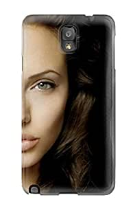 New Diy Design Angelina Jolie Full For Galaxy Note 3 Cases Comfortable For Lovers And Friends For Christmas Gifts