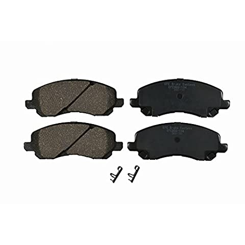 KFE Ultra Quiet Advanced KFE866-104 Premium Ceramic FRONT Brake Pad Set - Auto Brake Tune