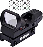 Beileshi Red and Green Reflex Sight with 4 Reticles